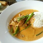 Panang curry duck lunch special