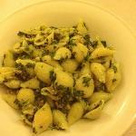 conchiglie con verdure e salsiccia