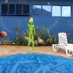 Et piscina coberta