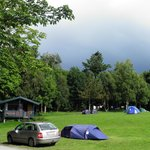 General view of the campsite