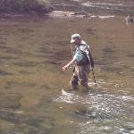 flyfishing in the Toccoa