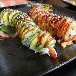 Magnificent Dragon & Crunch roll