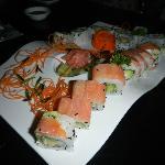 variety of sushi's