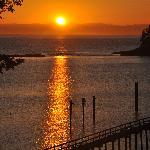 Sunrise on Mayne Island.