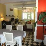 Stylvoller Speise-Salon