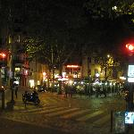 Street Scene at Le Pub Saint Germain