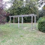 prächtiger Park mit alten Bäumen
