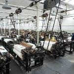Queen Street Mill Textile Museum working weaving shed