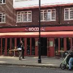 Rocco restaurant, Old Brompton Road near bottom of Earls Court Road