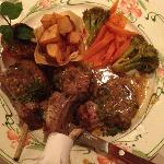 Lamb Chops that were beyond YUMMY!