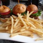 3 burgers!