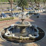 Fountain - view from balcony on second floor