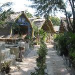 Les bungalows. :)