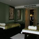 Our private spa room