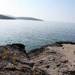 Вид на море из бухты