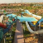 Widok z aqua parku