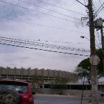 Vista de uma das ruas de acesso
