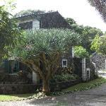 Einer der Häuser