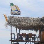 Funky de Bar, right on the beach