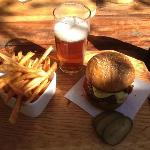 Springbok Burger and Overberg Ale