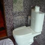 Toilet. Castaña room.