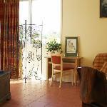 La Chambre en Suite, Côté Salon.