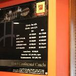 Preços em junho de 2012
