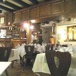 Restaurant Le Cellier, Treffpunkt der Einheimischen