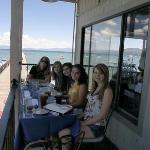 Balcony Dining at Tahoe Pier