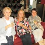 Jules Eileen and I enjoying afternoon tea at Du vin Newcastle 13.9.12