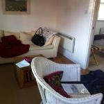 bed room excellent with telly and short bread
