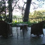 La Laguna patio