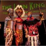 Nala, Simba and Rafiki