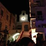 Evening out for drinks in Atrani