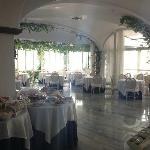 Breakfast/Dining room at Santa Caterina