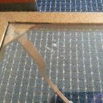 Dirty glass table!