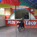 Mister Tacos during the day