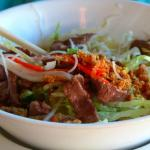 Grilled beef vermicelli