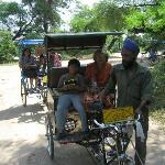 go by cycle rickshaw who will also tell you stories