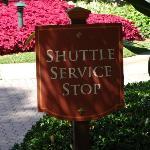 Serviço de Shuttle para o Aventura Mall e para a praia