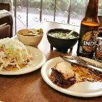 Beatricita for wonderful Mole Poblano tacos!