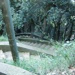 Treppenweg zur Grotte di Matromania