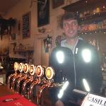 Me behind the bar!