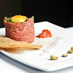 The most famous beef tartar