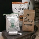 These are some of the organic flours we use in our bread.