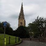 Spire Llandaff Cathedral