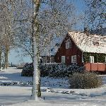 Vindbackagården at winter