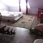 planta baja de la habitación dúplex