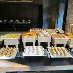 Just Part of the Extensive Breakfast Buffet Spread