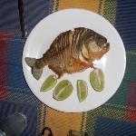 zubereiteter Piranha